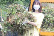 地域の清掃活動に参加しました~美作市クリーン作戦~【美作キャンパス】