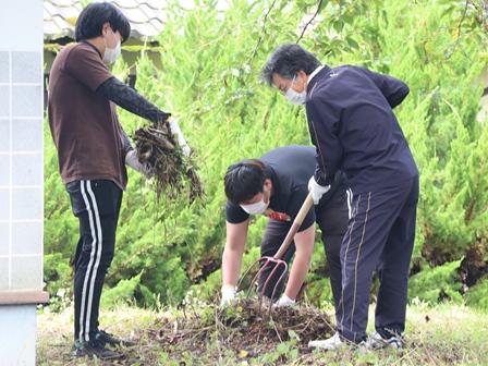地域の清掃活動