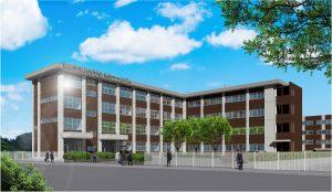 滋慶学園高等学校 新校舎