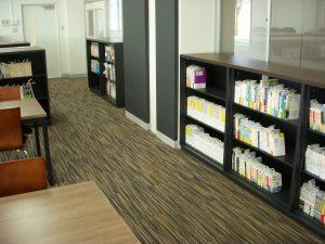 滋慶学園高等学校 図書室