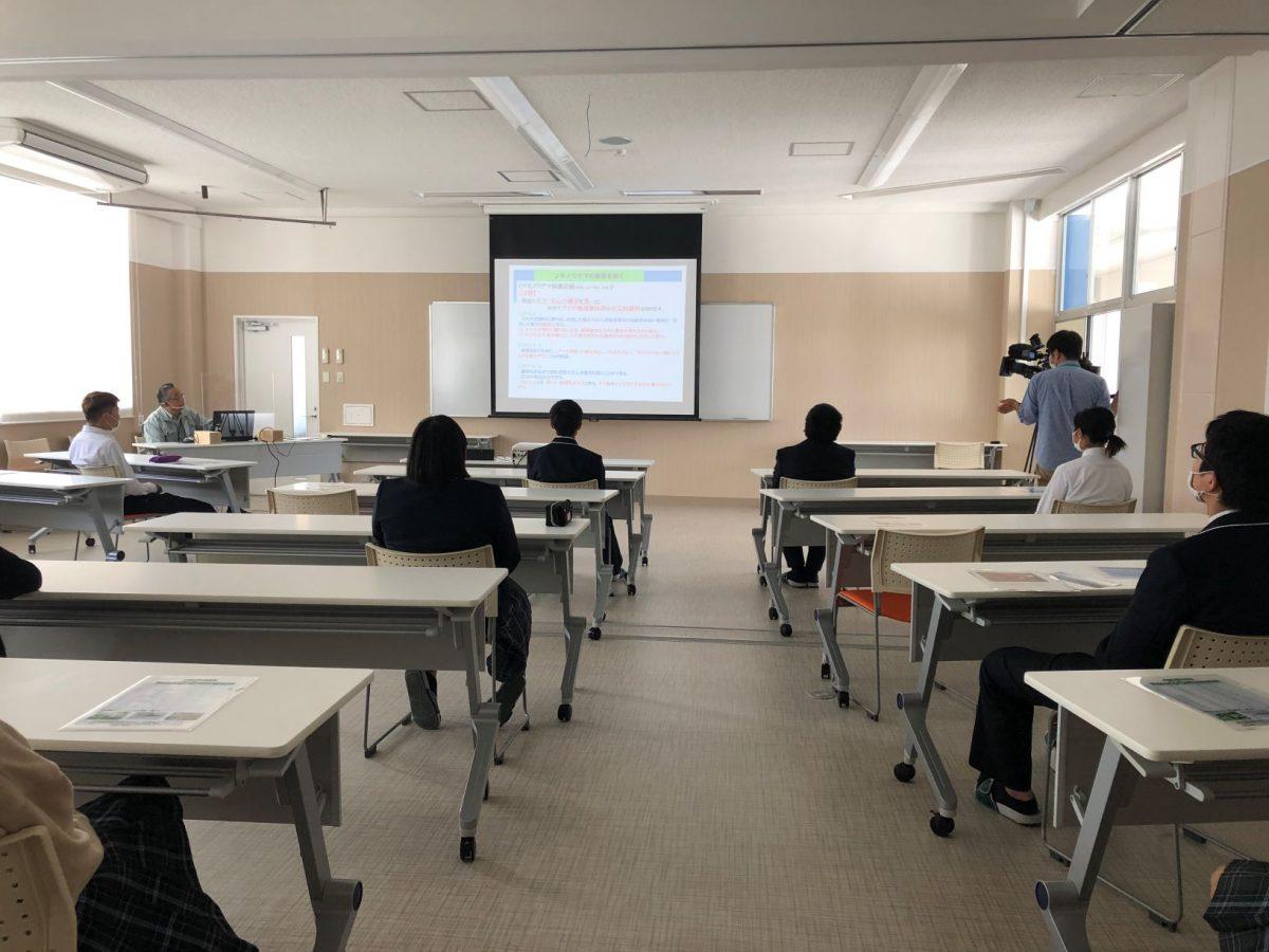 ツキノワグマの被害を防ぐ~出前学習講座~