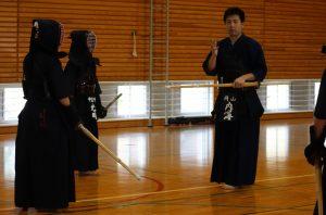 剣道練習会の様子