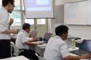 教員向けプログラミングセミナーを開催しました!