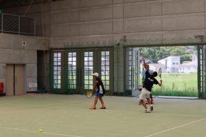 テニス練習会の練習内容