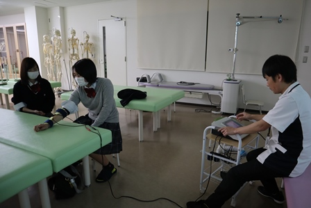 電気刺激療法の体験