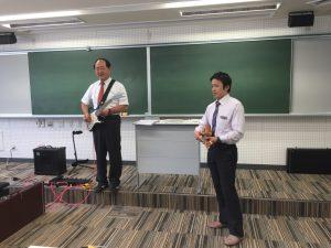 美作市スポーツ医療看護専門学校の中井先生も協力