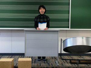 音楽担当の三浦先生