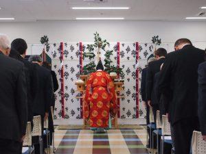 滋慶学園高校美作キャンパスの竣工式