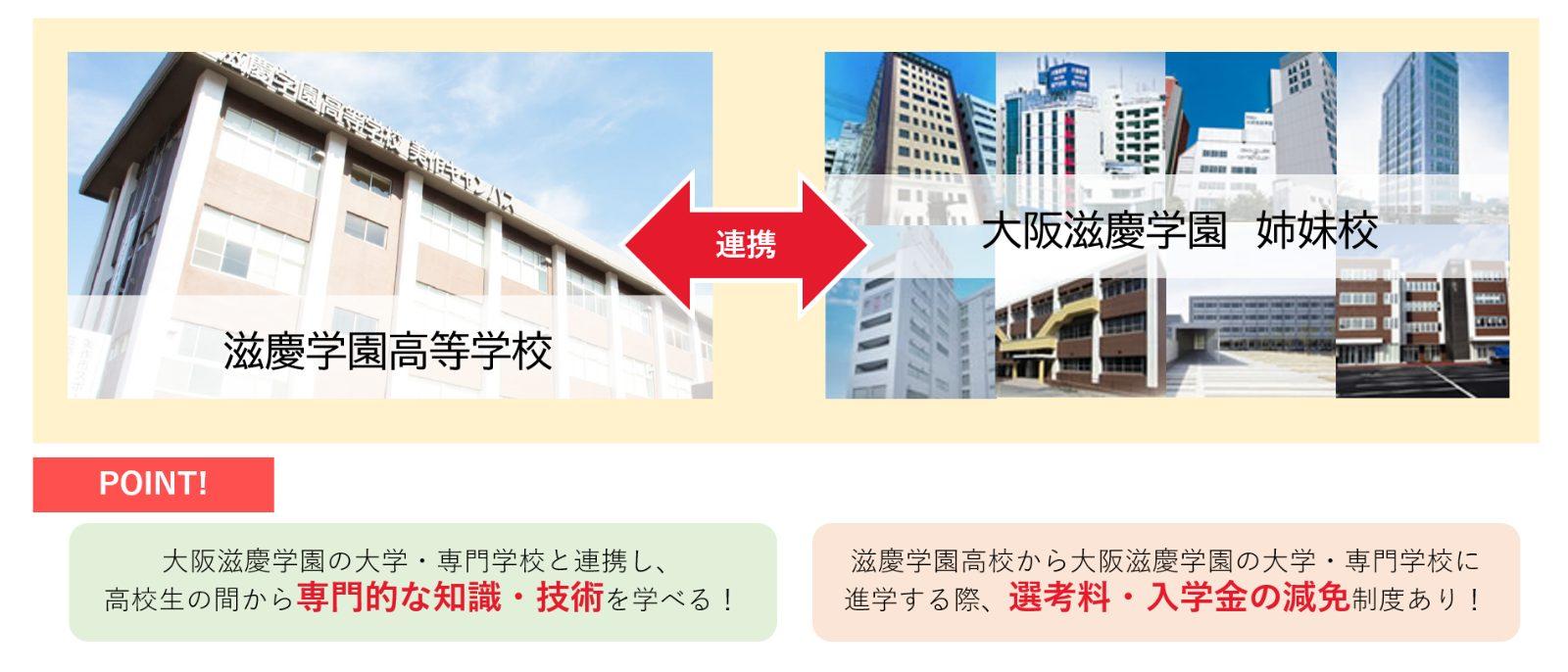大阪滋慶学園の連携